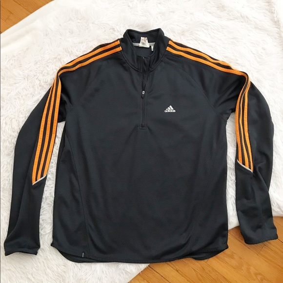 adidas Other - Adidas Zip Up Navy ClimaLite Top